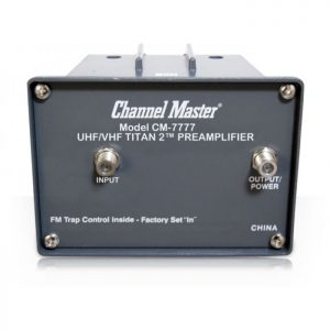 Channel Master CM-7777 CM-7778 Preamplifier